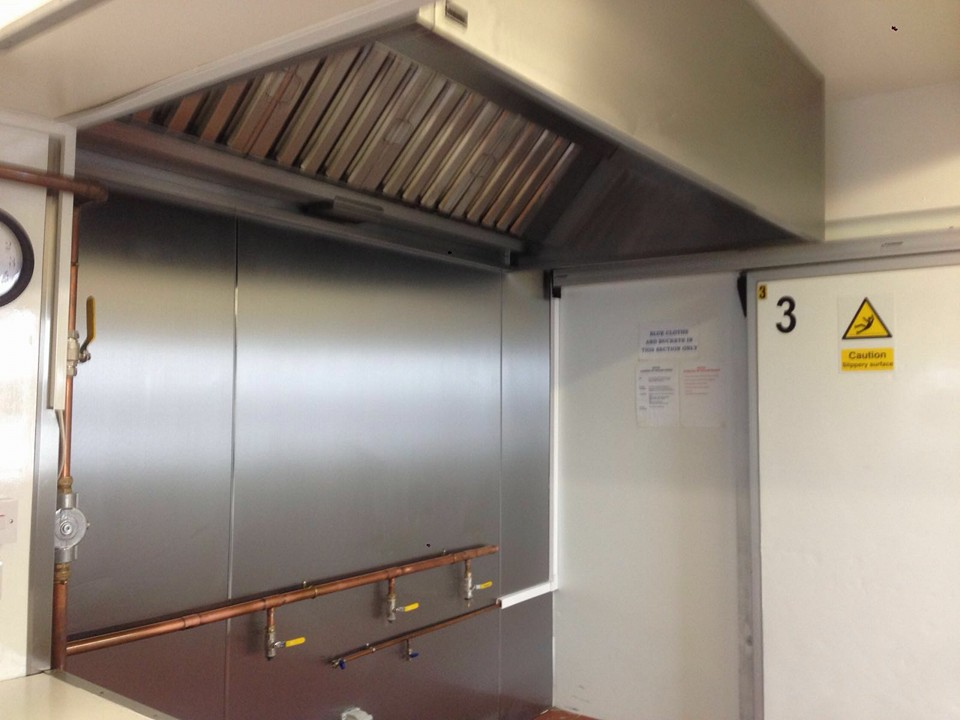 Commercial Kitchen Extraction Survey